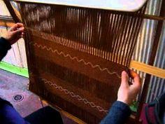 telar araucano. Textiles, Tear, Loom Weaving, Hope Chest, Textile Design, Fiber Art, Lana, History, Inspiration