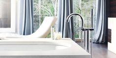 Floor-mounted Atrio Bath Mixer