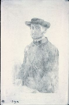 Edgar Degas (French, Paris 1834–1917 Paris)  Self-portrait
