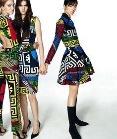 Fei Fei Sun, Sasha Luss & Vanessa Moody by Txema Yeste for Harper's Bazaar Spain October Styled by Juan Cebrian. Vogue Fashion, Fashion Shoot, Editorial Fashion, Fashion Models, Fei Fei Sun, Trendy Fashion, High Fashion, Vanessa Moody, Fashion Prints