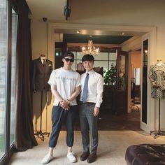 Yuchun at a Mark Ronsen store (150515)