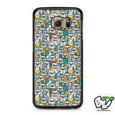 Pug Pattern Samsung Galaxy S7 Case