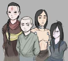 The Best Fan Made Young Version of the Characters on Avatar!