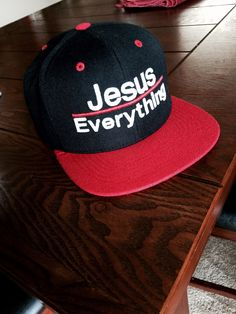 bc869b65190 JESUS over everything snapback — Able Fitness™