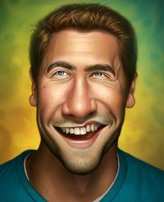 Jake Gyllenhaal by George Patsouras