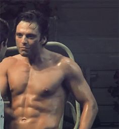 God bless whoever wrote the play that allowed Sebastian to be shirtless practically the whole time.