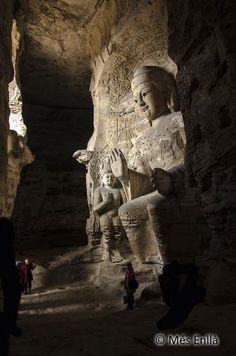 - Cuevas budistas de Yungang en Datong -