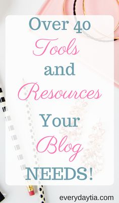 Do you want to blog better? Do you need free and budget friendly tools and resources to start a blog? Click through to get the best blogging tools and resources for your blog budget!