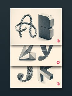 With the power of my words - Great Typographic works
