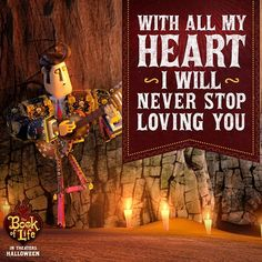Book Of Life movie - Manolo's heart
