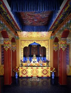 Newark Museum Tibetan Buddhist Altar. For more information contact us at http://cm.gy/NewarkCulture