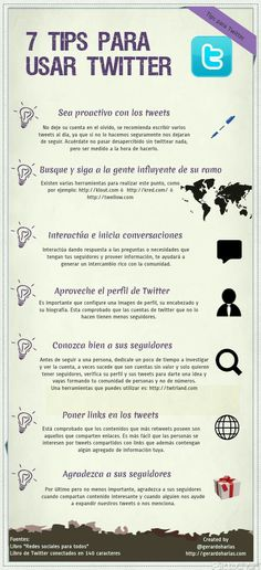Siete tips para usar Twitter