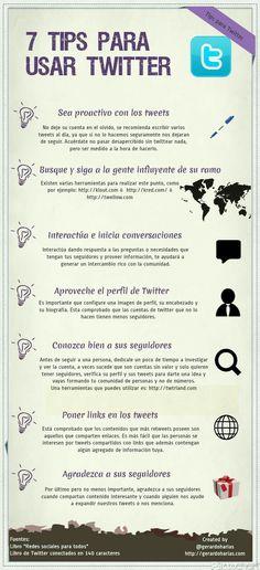 Siete tips para usar Twitter