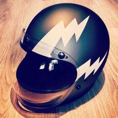 Biker Helmets, Custom Motorcycle Helmets, Custom Helmets, Biker Gear, Racing Helmets, Motorcycle Style, Motorcycle Gear, Motorcycle Images, Classic Motorcycle