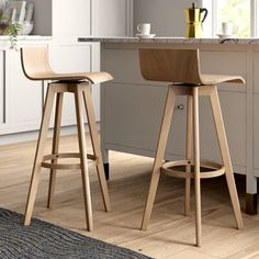 Mercury Row Dery Swivel Bar & Counter Stool (Set of , Wooden Bar Stools, Swivel Bar Stools, Bar Chairs, Best Bar Stools, Side Chairs, Office Chairs, Lounge Chairs, Room Chairs, Stools With Backs