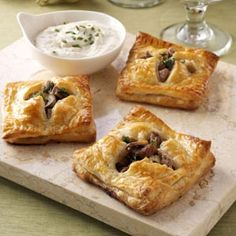 Beef Wellington Appetizers Recipe from Taste of Home -- shared by Joan Cooper of Sussex, Wisconsin