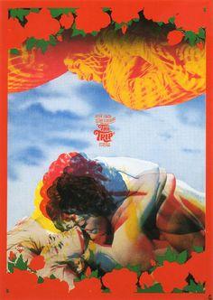 Tadanori Yokoo, The Trip, 1968, Filmposter