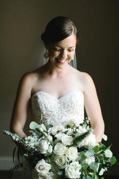 glowing bride.