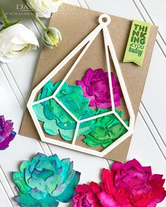 Sentiment Suite: Thinking of You – The Greetery Thinking Of You Today, Colorful Succulents, Cards For Friends, Watercolor Cards, Diy Cards, Fun Projects, Paper Cutting, Cardmaking, Paper Crafts