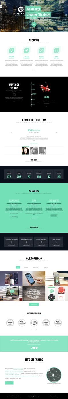 BIRVA – Creative One Page #WordPress #Theme is a vibrant, responsive one page parallax theme built on the Bootstrap 3 framework and WordPress Newest version. It is easy to customize and well documented to suit your needs.   BIRVA is a perfect theme for a variety of uses from blogs to personal or business portfolios. download now➯ http://www.downloadnewthemes.com/2014/04/birva-creative-one-page-wordpress-theme.html