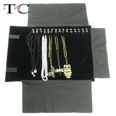 Find More Jewelry Packaging & Display Information about Super Black Jewelry Display Rolls Travel Portable Organizer Bracelete Bag Folding For Necklace Chain Accessories Storage Pouch,High Quality display mannequin,China bag for washing machine Suppliers, Cheap bag fittings from JANE JEWELRY DISPLAY PACKAGING on Aliexpress.com