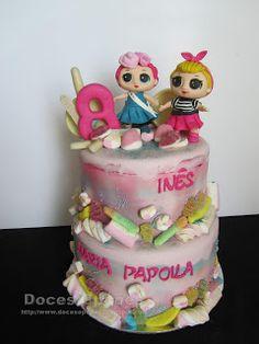 Doces Opções: Bolo de aniversário LOL Surprise! Lol, Children, Cake, Birthday Cakes, Sweets, Young Children, Boys, Kids, Kuchen