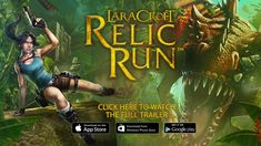 Lara Croft: Relic Run is the all new action adventure for nostalgic Lara Croft fans! Lara Croft: Relic Run com. Glitch, New Lara Croft, Ios, Free Android Games, Gaming, Adventure Games, Game Update, Website Features, Test Card
