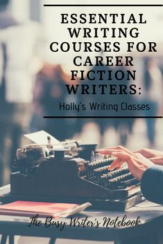 Holly's Writing Classes: the essential writing courses for fiction writers who want to write for a living. In this post, I lay out all her available courses and what they entail. Check out her FREE flash fiction writing class to start. Fiction Writing, Writing Advice, Writing Resources, Writing Help, Writing Skills, Writing A Book, Writing Prompts, Writing Ideas, Writing Humor