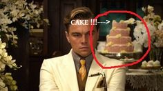 The Great Gatsby 1974 vs The Great Gatsby 2013 - JG sends over an awesome looking cake to Nick's little cottage for the tea with Daisy  READ MORE