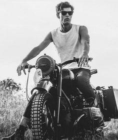 "cxx-x: ""Mens Fashion // Man & his ride © - Best Motorrad - Easy Rider, Ideas Para Photoshoot, Bike Photoshoot, Motorcycle Photography, Photography Poses For Men, Motorcycle Men, Motorcycle Outfit, Motorcycle Photo Shoot, Motorcycle Fashion"