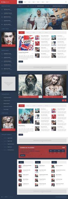Nillnews Responsive #WordPress News and Blog Theme http://www.themesandmods.com/premium-wordpress-themes/nillnews/