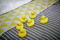 Auch im Schlafzimmer sieht die PHILIP Ente cool und süss aus...