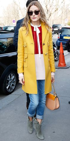 Olivia Palermo Is Winning Paris Fashion Week Street Style - March 8, 2015  - from InStyle.com