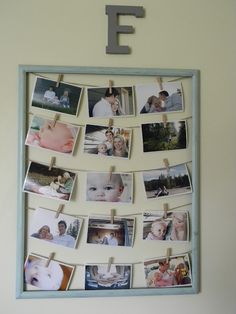 Luv U to the Moon... and Back: DIY: Creative Ways to Display Pictures