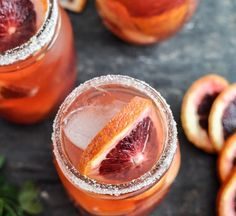 Blood orange sangria would be such a tasty way to cool down on a hot day. How many Sangria recipes can I collect and make! Refreshing Drinks, Summer Drinks, Fun Drinks, Beverages, Drinks Alcohol, Alcoholic Drinks, Blood Orange Sangria, White Sangria, Orange Juice