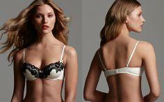 Balcony bra #bras #bra #lingerie #elle #macpherson