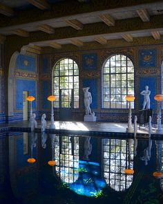 Hearst Castle Roman Pool | San Simeon |