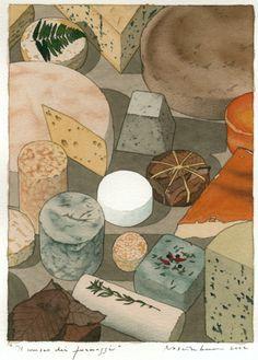 Yan Nascimbene's Stunning Illustrations of Italo Calvino Classics | Brain Pickings
