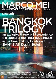 This week : Bangkok Trilogy Sky Bar Bangkok, Rooftop, Tours, Design Hotel, Thailand, March, Deep, Asian, Rooftops