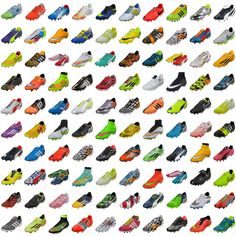 Some of the most popular #soccer #cleats of 2014. Which was your favorite?