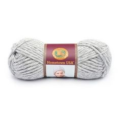 Lion Brand Hometown USA Prints Yarn in Silver