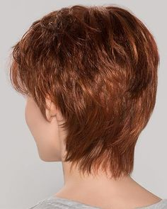 Come and buy Short Synthetic Perfect Cropped Auburn Wavy Monofilament Wigs. Short Curly Pixie, Short Wigs, Short Hair Cuts, Pixie Cuts, Trending Hairstyles, Bob Hairstyles, Straight Hairstyles, Pixie Haircuts, Monofilament Wigs