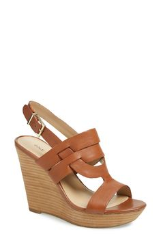 These slingback wedge sandals are perfect for days that call for a casual-chic look.