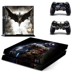 Check out our cool selection of Batman Stickers available now! Includes stickers for gaming system and stickers for two controllers!Brand Name: Ps4 Model Number: DPTM0240 Tpye: For Sony Playstation 4