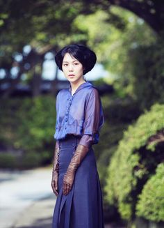 Kim Min-hee in 'Agasshi/The Handmaiden' Movie Costumes, Character Costumes, Mademoiselle Film, Park Chan Wook, Kim Min Hee, Happy Movie, Movie Collection, Sabrina Carpenter, Rowan Blanchard