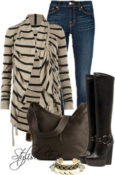 For more: http://www.stylisheve.com/jean-outfits-for-women-by-stylish-eve/