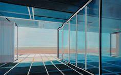 """Saatchi Art Artist Cécile van Hanja; Painting, """"Glassworks"""" #art"""