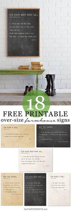 18 Amazing FREE Prin