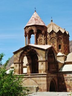 St. Stepanos Armenian church and monastery in Jolfa, East Azerbaijan, Iran