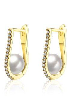 Wanita > Aksesoris > Perhiasan > Anting > Tiaria Earrings AKE154-A Aksesoris Anting Lapis Emas > Tiaria